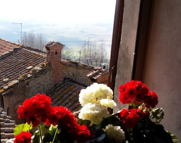View from Casa di Amici