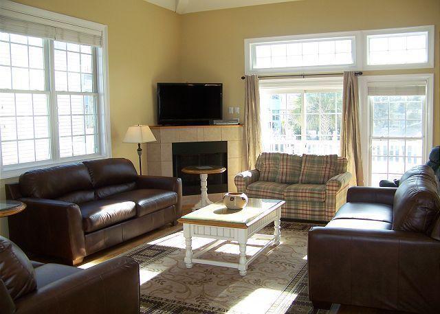 Full shot of living area