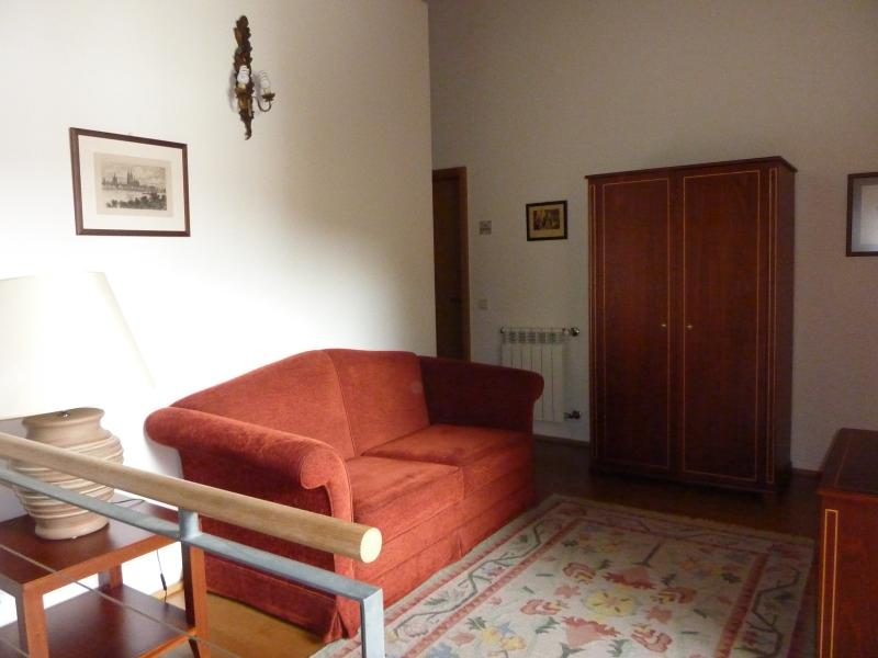 Hall with sofa-bed
