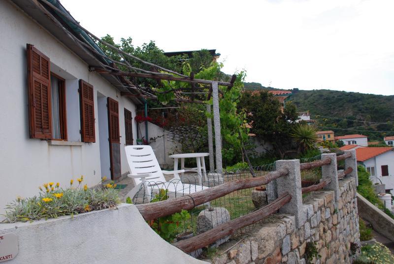 el pequeño jardín