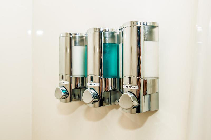 We provide shampoo, conditioner and body wash.