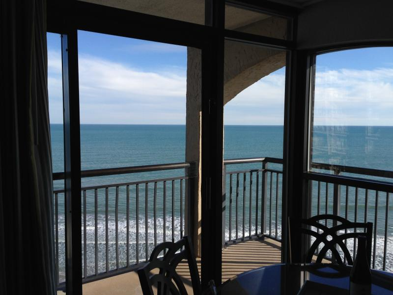 Enjoy panoramic ocean views from our corner condo!