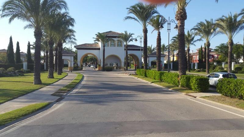 Entrada principal a 5 * Mar Menor Golf Resort