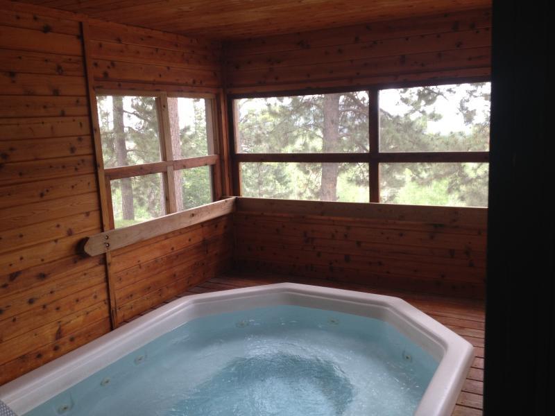 Barefoot Resort binnen hottub
