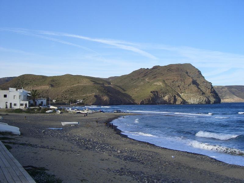 La playa de Las Negras