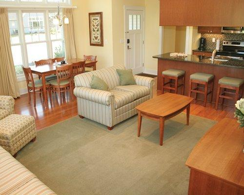 Dining room, open bar to kitchen. Great for entertaining.