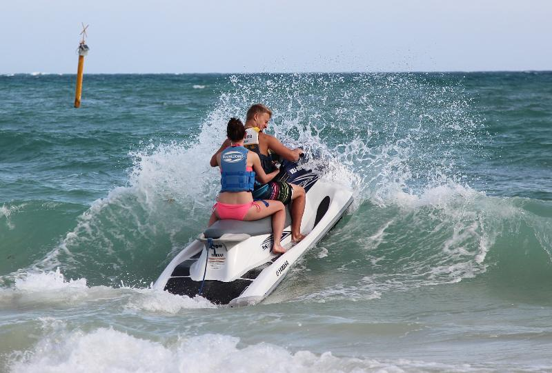 So much to do in and around Puerto Morelos.. nearby sea-doos for rent