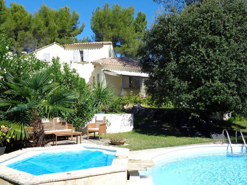 BEAUTIFUL AND RELAXING VILLA WITH PRIVATE POOL AND JACUZZI, holiday rental in Saint-Pierre de Vassols