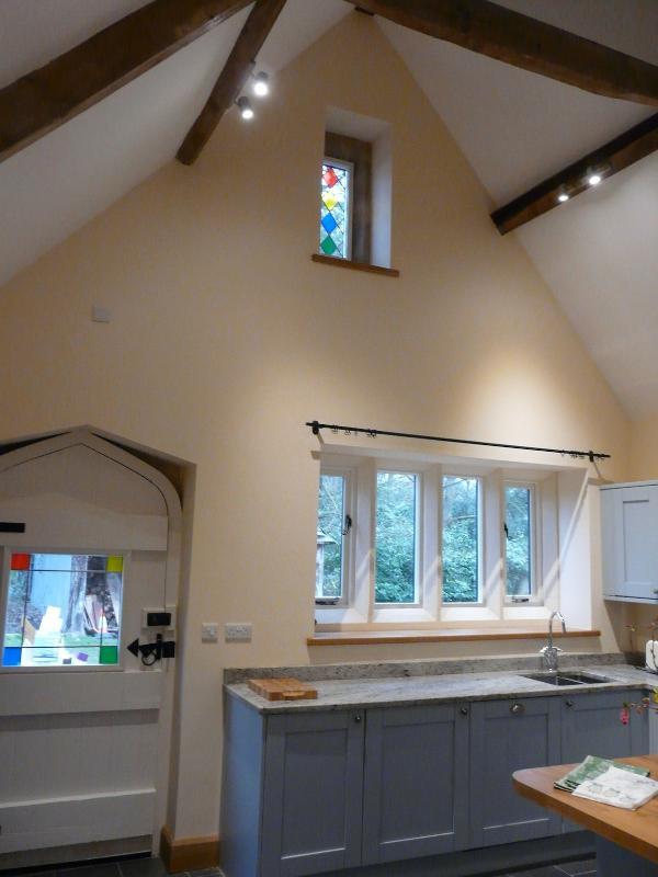 Abovedado techo cocina