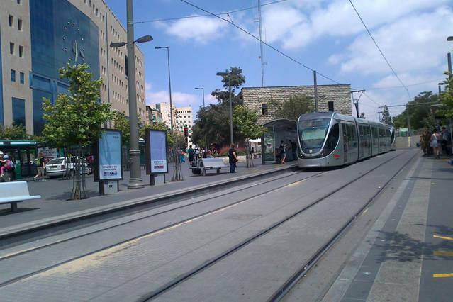 Less then 5 minute walk from jaffa street central bus station & light rail station - fast and easy a