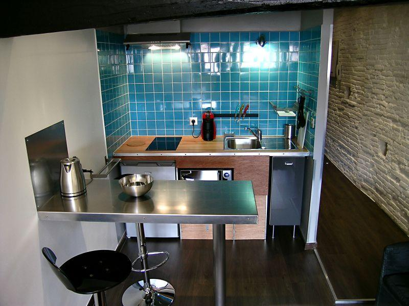 Studio with terrace in city center, vacation rental in Toulouse
