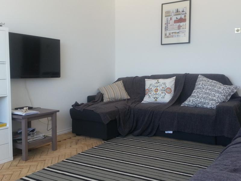 Interior of apartment: lounge
