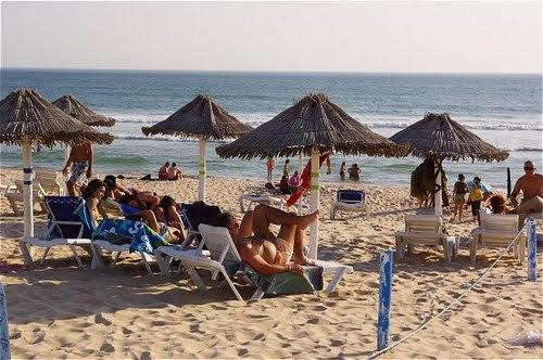 Beachfront apartment in Portugal, holiday rental in Setubal District