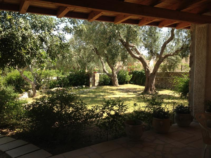 adjacent to the large garden veranda