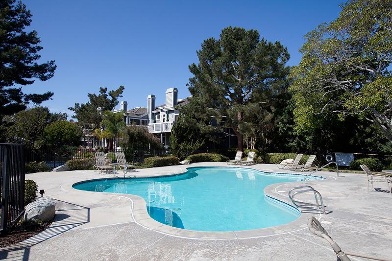 Uno de tres piscinas climatizadas