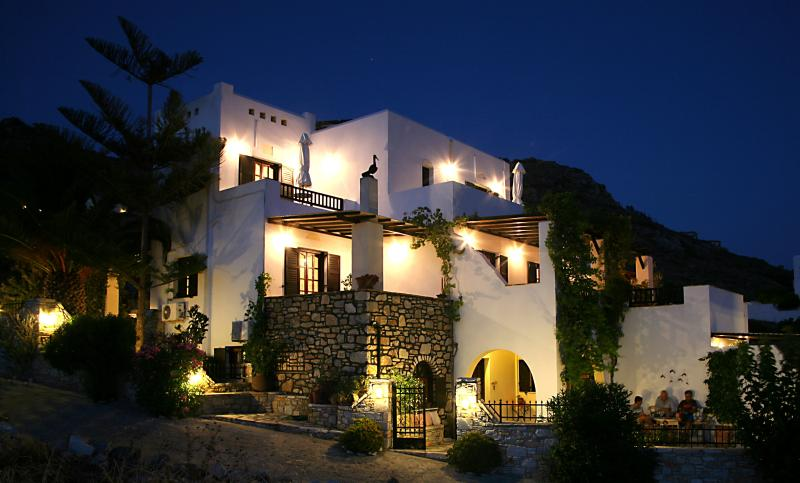 Exterior View of the Property by Night