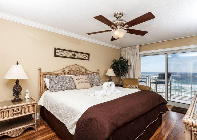 AMAZING 5th floor beach front master bedroom