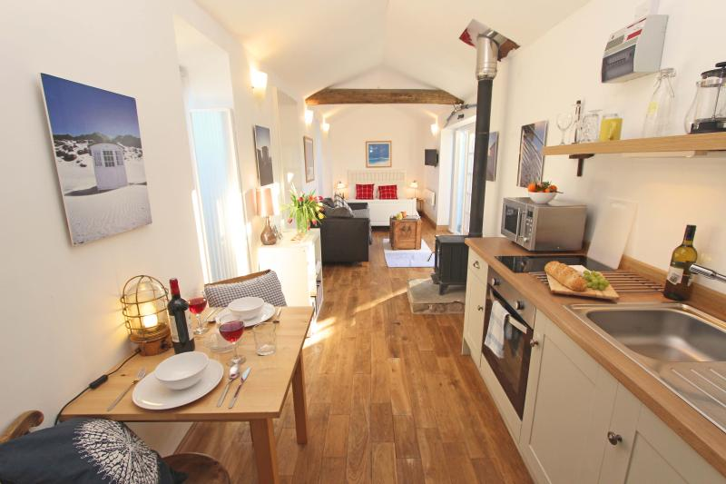 1 Bamburgh Gate, view of the cosy cottage interior