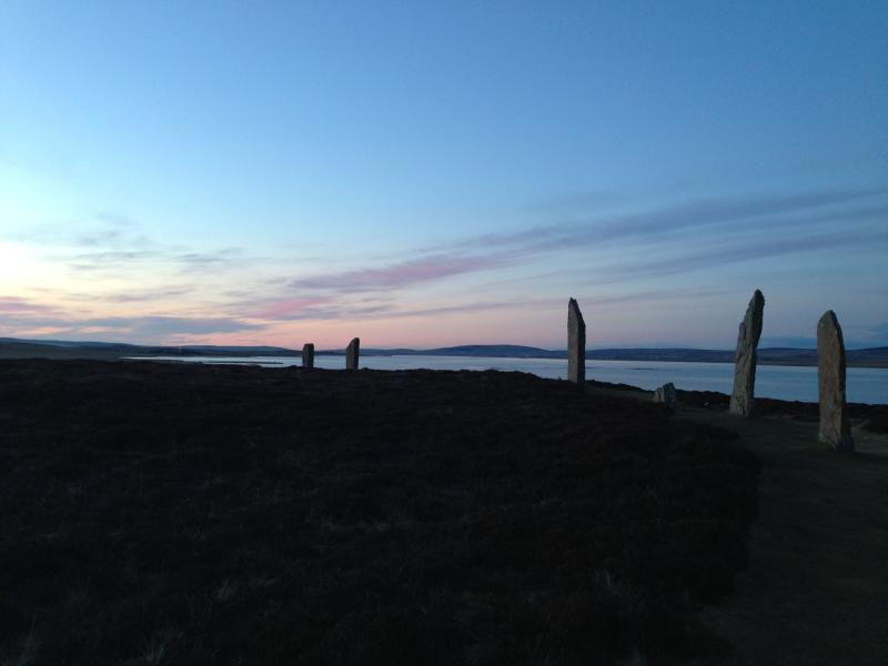 Sunset at Ring of Brodgar