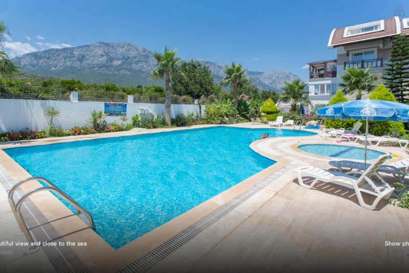 Beautiful view across from the sea – semesterbostad i Kemer
