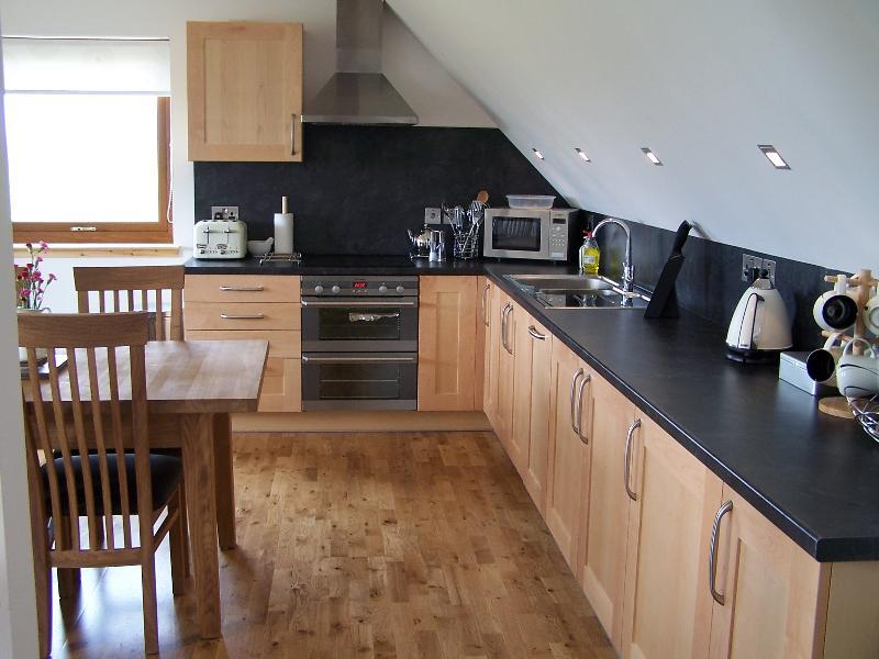 Kitchen/ Diner/ Livingroom in No 1 Lodge, Upstairs