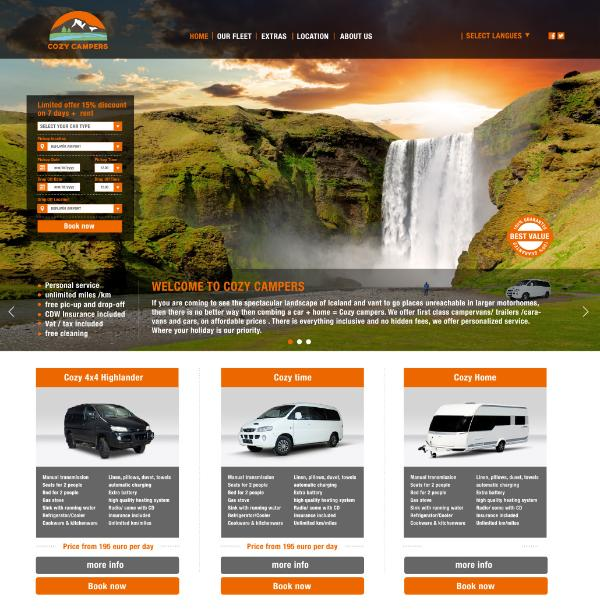 website . www. cozycampers.is