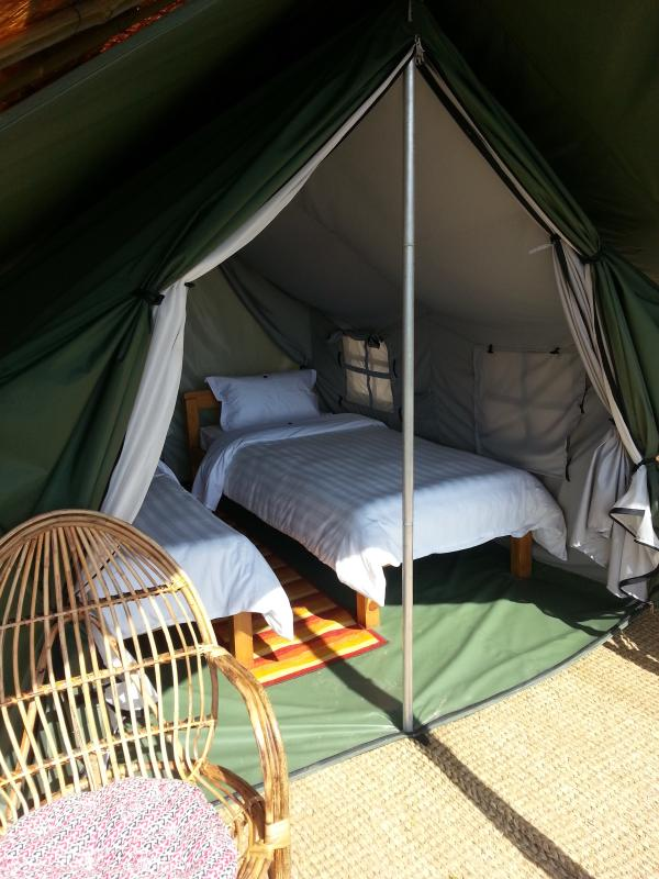 Shivapuri Heights Tented Accommodation - rustic comfort