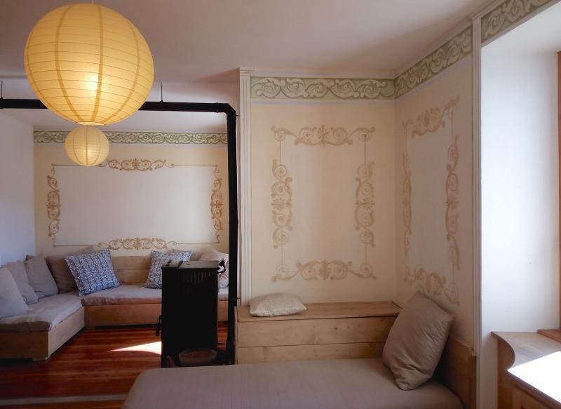 Sala con divani letto