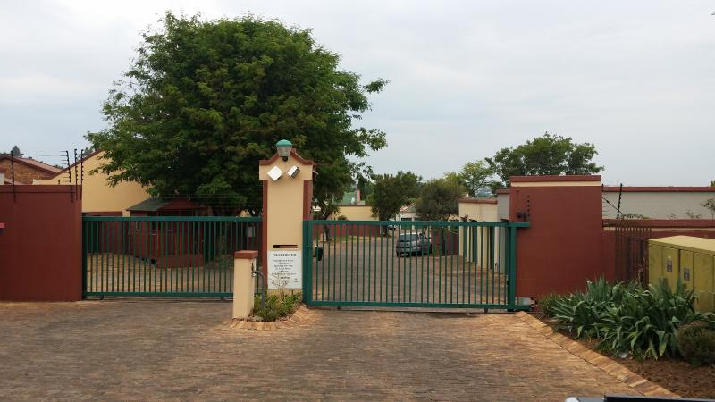 Secured Gate Entrance