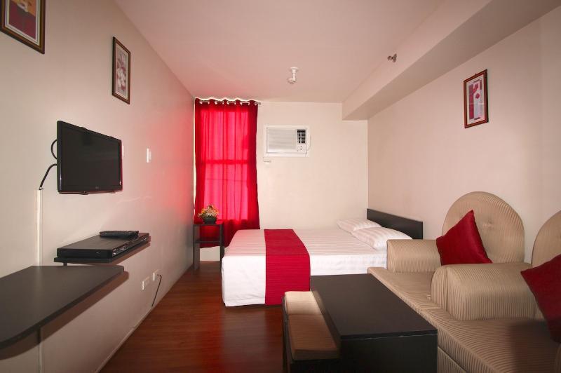 Fully furnished studio condo unit