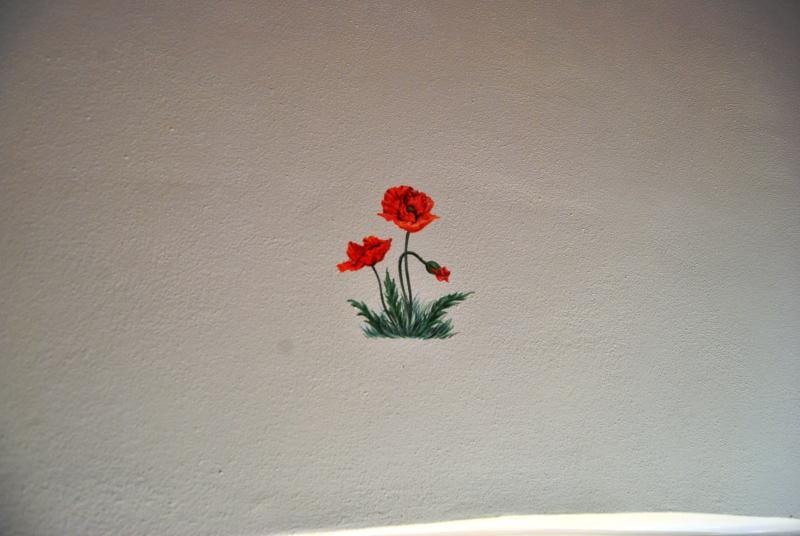 Poppy room Ancient Granaione b & b