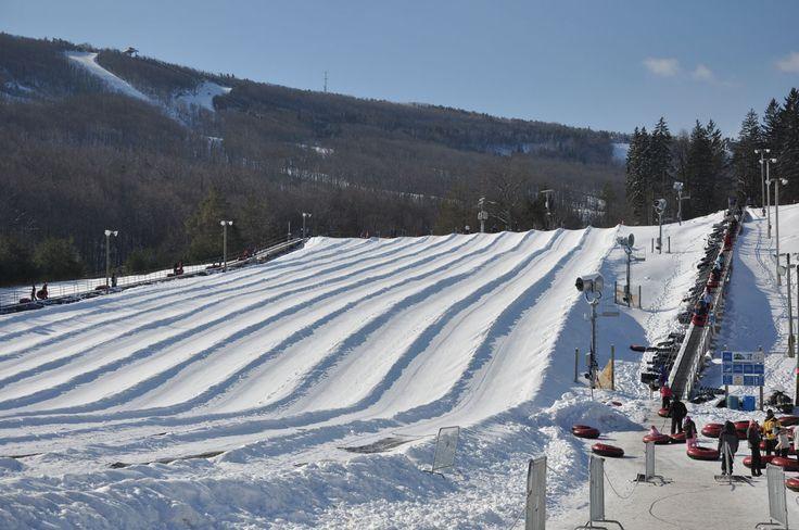 Snowtubing sur montagne Camelback, à 5 minutes de la maison