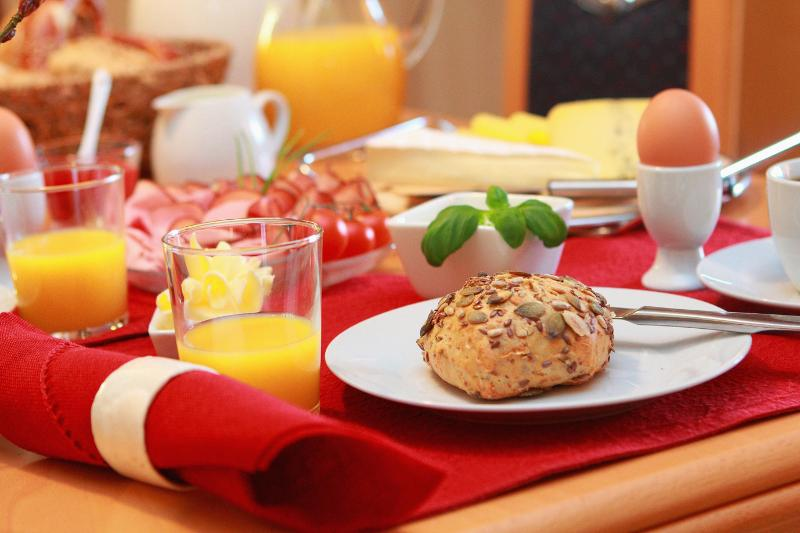 Start the day with breakfast