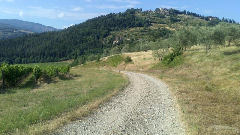 Leave the beaten track!. Remember the approach road is loose stone!