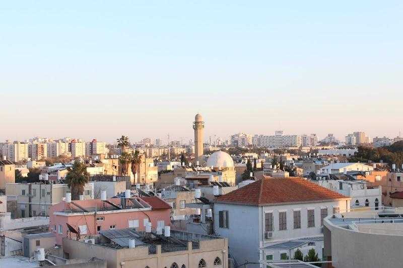The view from the Terrace: the Mosque