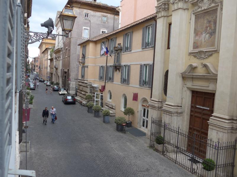 Via Giulia From The Apartment