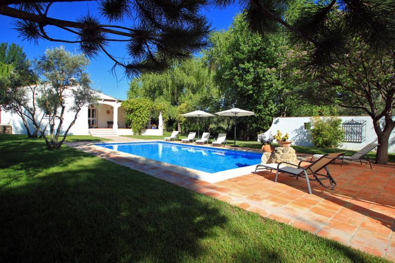 Villa Los Olivos & Private Pool near Ronda, alquiler de vacaciones en Setenil de las Bodegas