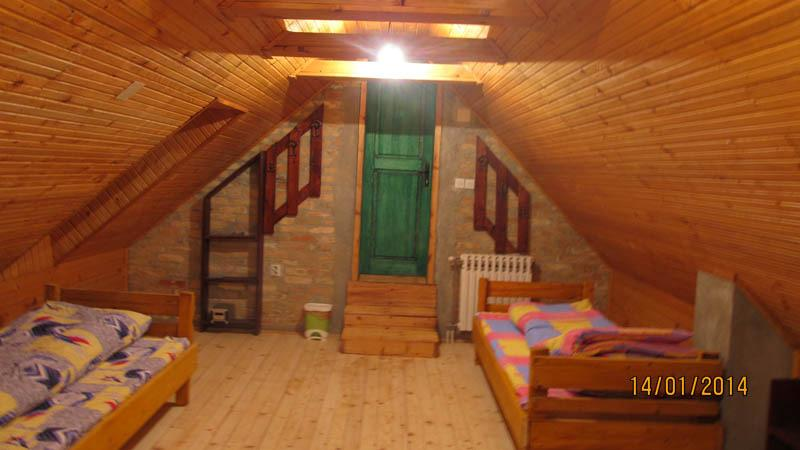 green room,5 beds,TV and shared bathroom, holiday rental in Vojvodina