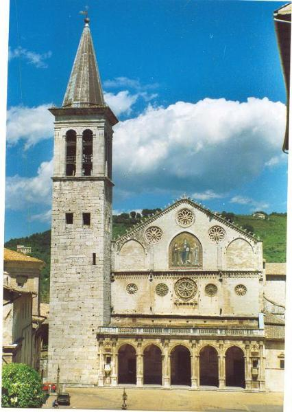Lovely Spoleto is your nearest town
