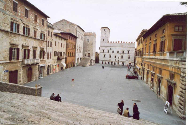 Todi is one of many lovely towns that can be easily reached