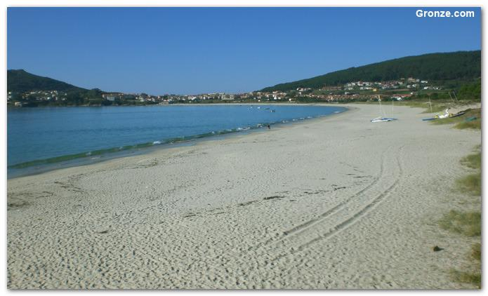 Playa Langosteira,Fisterra 18km
