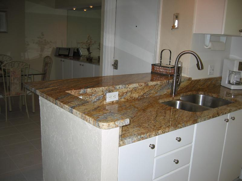 Kitchen Sink and Granite Counter