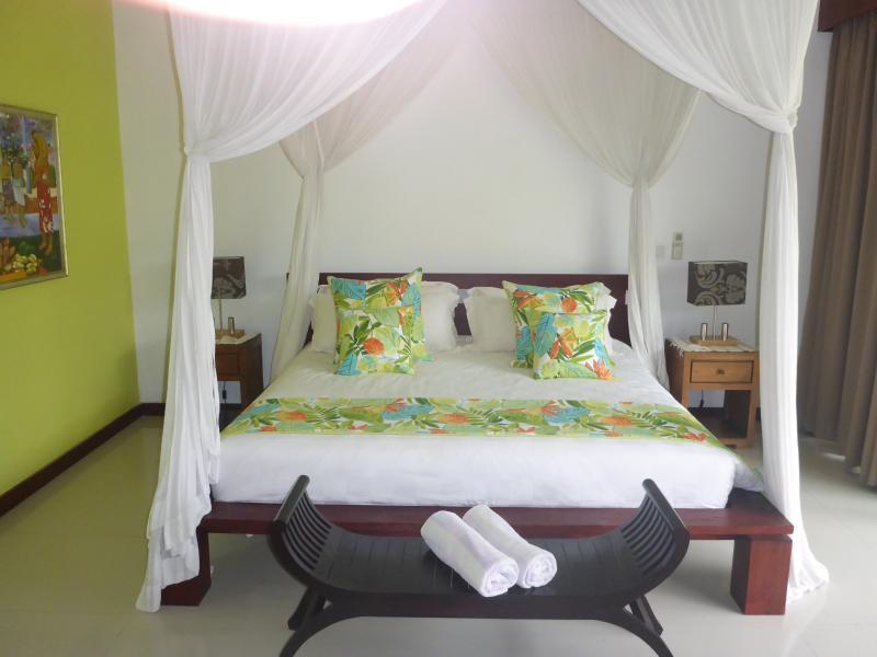 Fresh, large,  modern beds