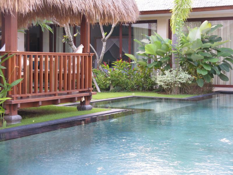 Bale and pool area