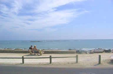 Local beach, Brétignolles sur mer
