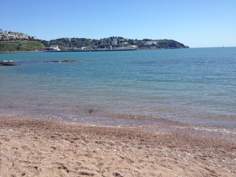 Torquay Seafront less than a 5 min walk
