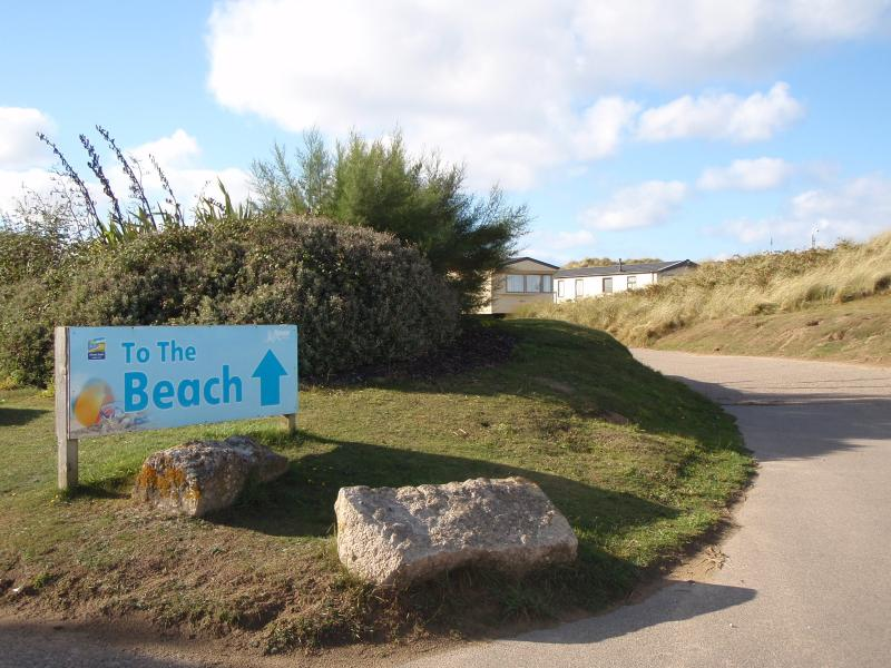 The Beach is just 500 metres away from the Chalet