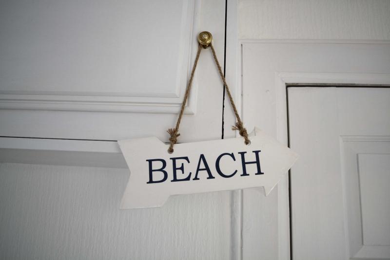 Seguir señales de playa a la playa, Broughty Ferry