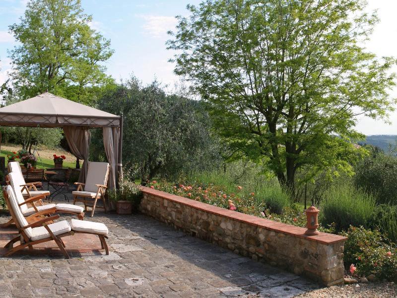 La terraza privada