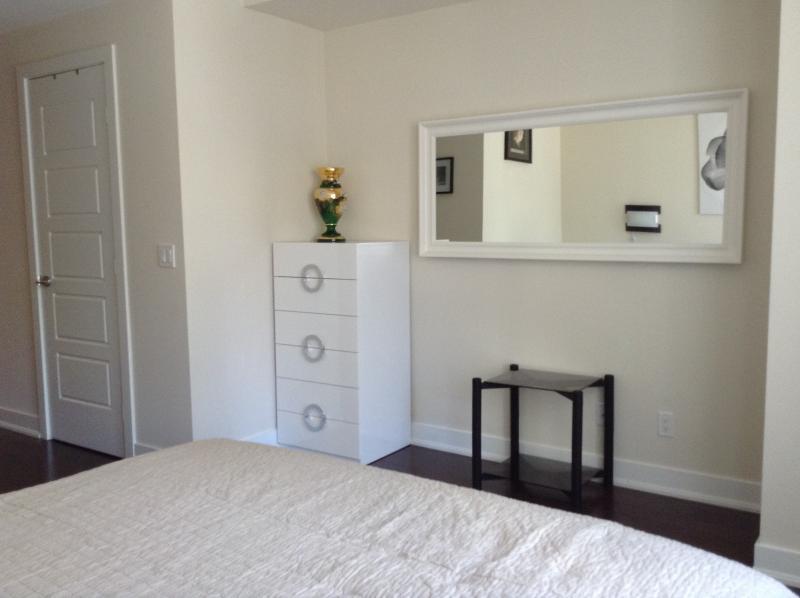 Master bedroom. 2 Big Walk-in Closets